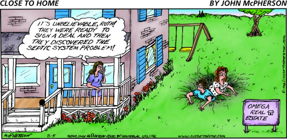 Image result for failed septic system